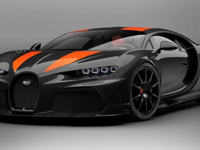 El Bugatti Chiron Super Sport 300+ es un saludo de $ 4 millones para romper la barrera de 300 MPH