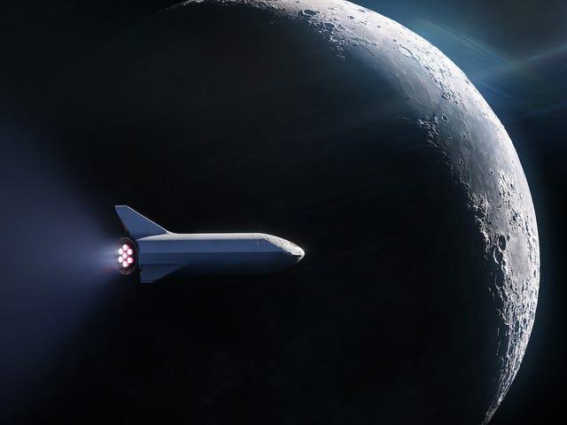 SpaceX confirma sus planes lunares: llevarán astronautas a la superficie de la Luna en 2024