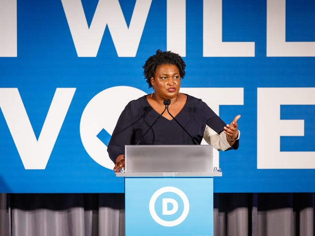 """Stacey Abrams gör tydliga mål för hennes vice president: """"Svarta kvinnor är den starkaste delen av det demokratiska partiet"""""""