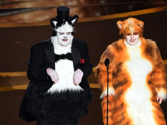 The VFX community didn't appreciate that Cats joke during the Oscars