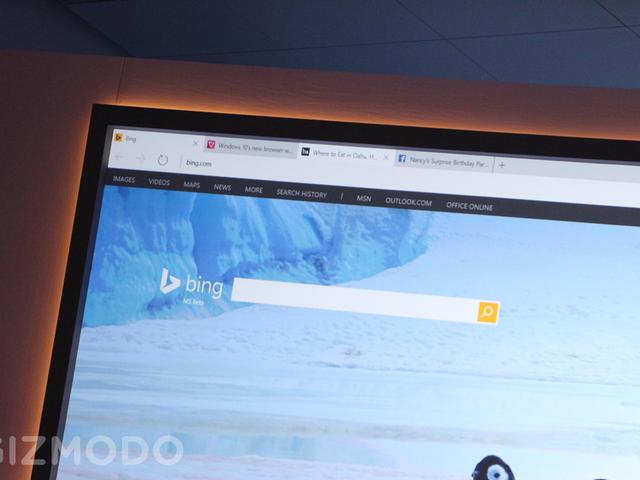 Microsofts Spartan Browser är här för att spara dig från Internet Explorer