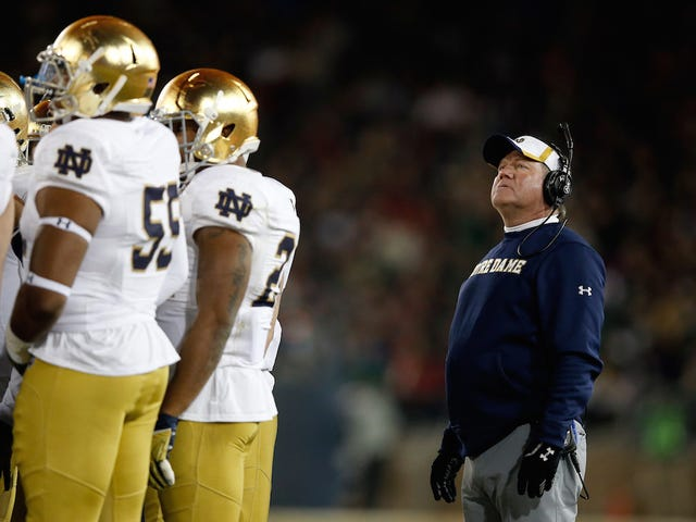 Brian Kelly Has His Excuses Ready