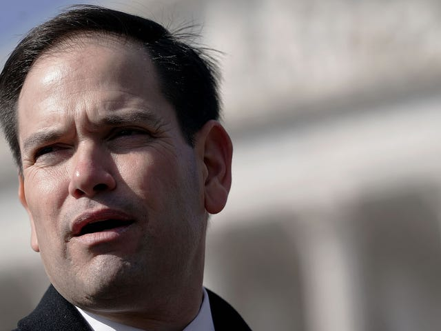 Marco Rubio: The Recount Is Like Booting The Helmet Sport Ball Through The Yellow Poles