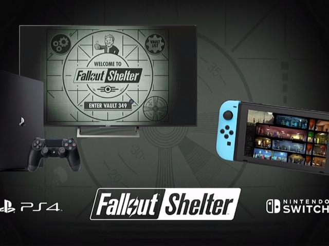 Quản lý kho lưu trữ cơ bản sim Fallout Shelter đang đến với PlayStation 4 và Nintendo Switc