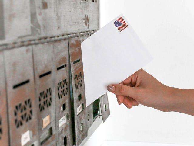 Morgen wird es keine Postzustellung geben