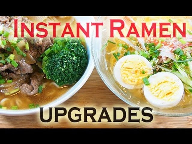 The Easiest Ways to Transform Your Instant Ramen into a Filling Meal