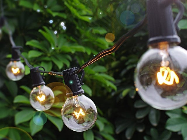 String Up 25 Feet of Globe Lights For Just $9