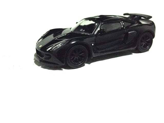 Kyosho 1/64 Lotus Exige 'Black Edition'