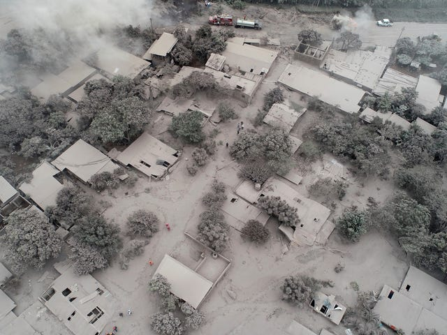 Guatemala Looks Like the Upside Down After Deadly Volcanic Eruption