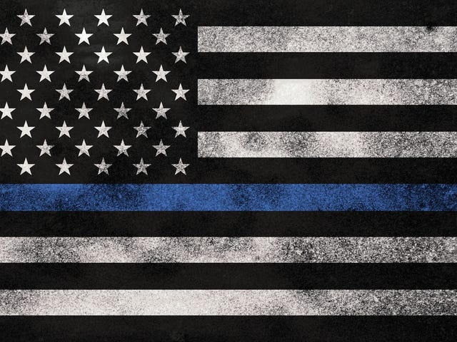 """Blue Lives"" Don't Matter Because Blue Lives Don't Exist"