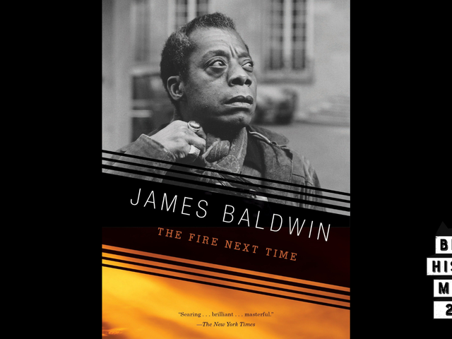 28 Days of Literary Blackness With VSB | Day 18: The Fire Next Time by James Baldwin