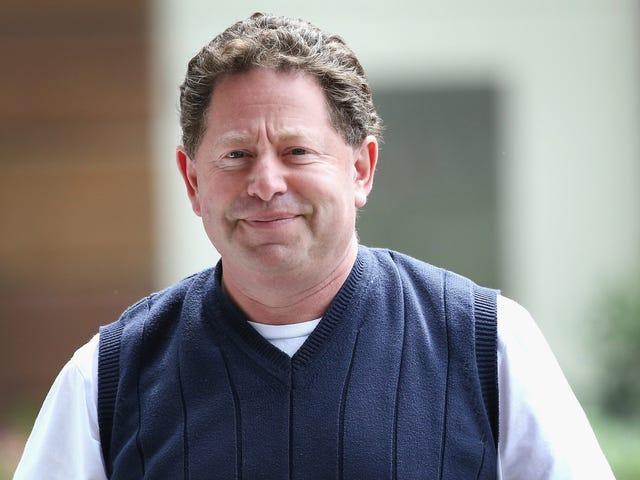 Activision BlizzardのCEO、Bobby Kotickが従業員10,000人に個人の携帯電話番号を提供