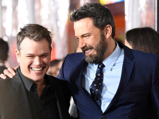 Ben Affleck and Matt Damon teaming up with Ridley Scott for The Last Duel