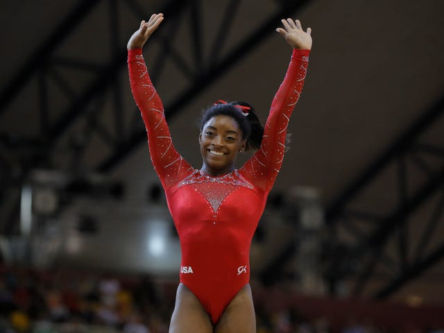 Simone Biles Is Now The Most Decorated Female Gymnast In World Championships History