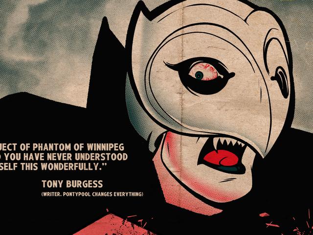 The Phantom Of Winnipeg slår igen i en eksklusiv plakatdebut