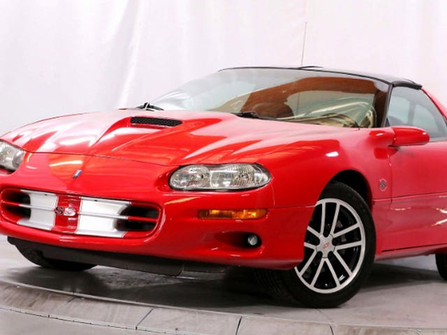 At $16,990, Is This 2002 Chevy Camaro Z28 SS the Perfect Anniversary Gift?