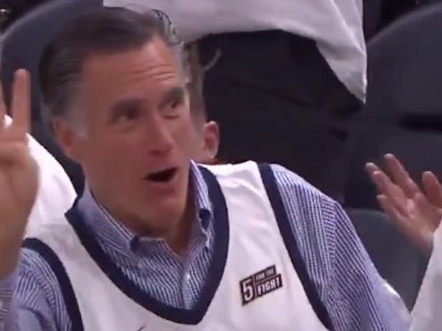 The Thunder Hit Rock Bottom, Where They Found A Gloating Mitt Romney