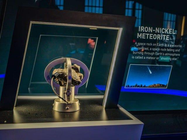 Quien robó este meteorito de un museo de ciencias realmente debería haberlo buscado en Google primero <em></em><em></em>