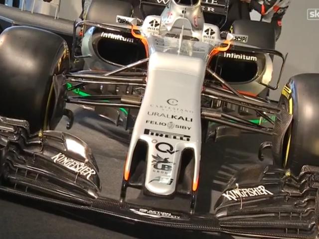 Tämän vuoden Force India -auto on ehdottomasti rumin Formula-kilpailija