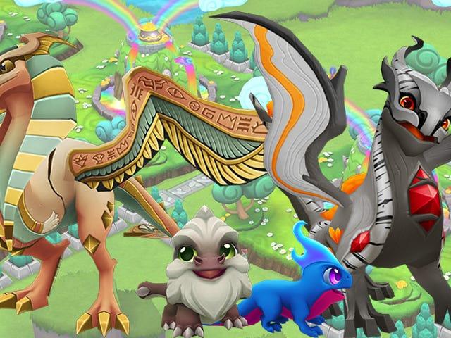 <i>Dragonvale World</i> lleva la cría de dragones obsesivos al siguiente nivel