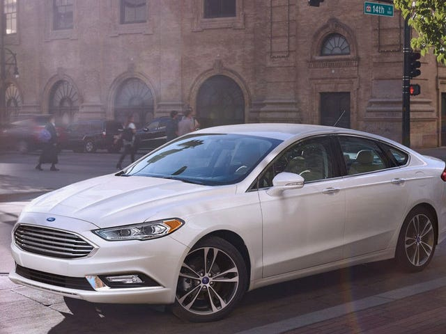 Ford Recalling Nearly 1.4 Million Fusions And Lincolns Because The Dang Steering Wheels Could Fall Off
