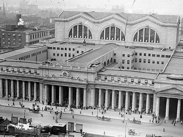 Voorstel: Madison Square Garden afbreken en Pennsylvania Station herbouwen