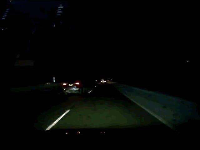 Fang i USA eksplosionen i himlen på en meteorit med styrken af et jordskælv med en styrke 2,0