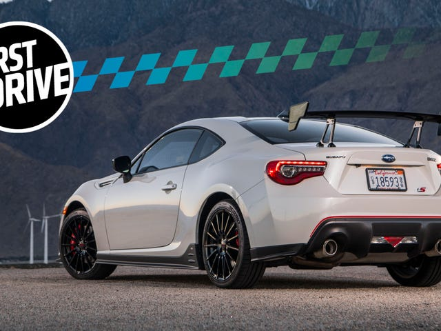 The 2018 Subaru BRZ tS Is A Better BRZ—And That's A Problem