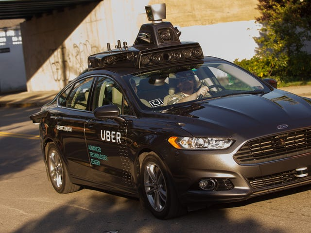 Uber Says It's Bringing Self-Driving Cars Back to Pittsburgh, Mayor Does a Spit Take