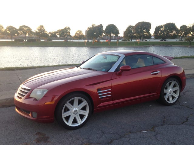 The Crossfire is for sale.