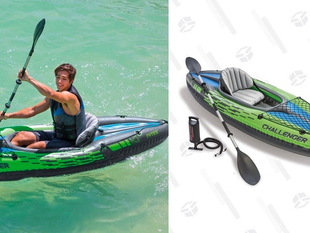 Pay Less Than Ever For This Inflatable Intex Kayak