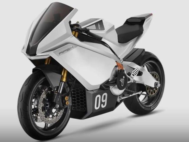 Segway har en ny højdrevet el-motorcykel.  Dette er hans første test med lukket kredsløb