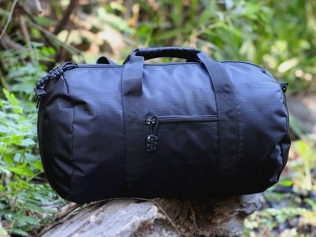 Save Over 70% On The Bomber Barrel Duffel Bag Complete Set