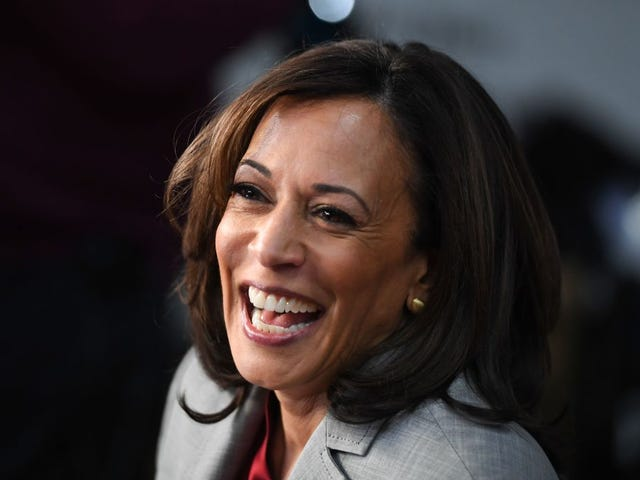 Kamala Harris Shuts Door on Presidency and Dunks on the President on Her Way Out