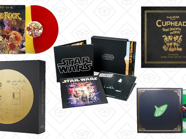 ThinkGeek Has Vinyl Records, and They're All Up to 60% Off
