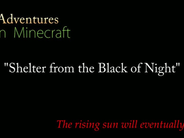 One of Minecraft's Greatest and Oldest Web Series Turns Four [UPDATE]