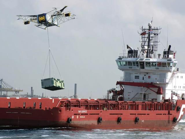 Drones al estilo ruso: autónomo, med en gasolina og en kapasitet på 8 stykker og 250 kg af carga