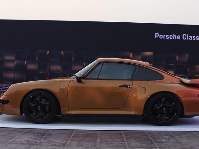 Porsche 'Project Gold' của Porsche là chiếc 993 Turbo S được làm mát bằng không khí được phục hồi để bán đấu giá