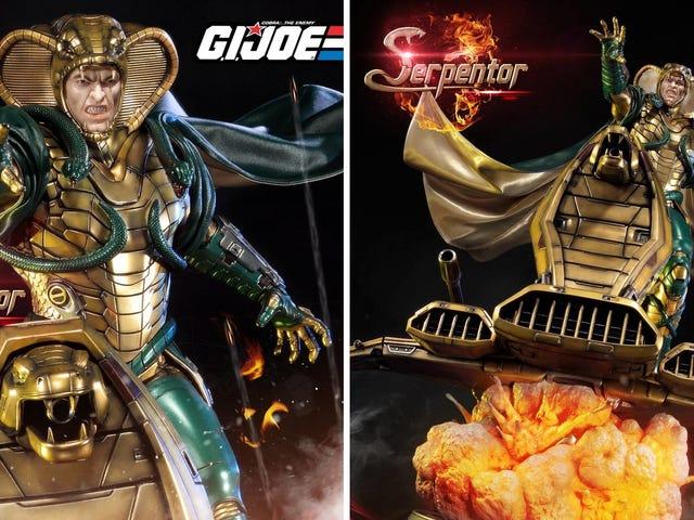 Αυτό το απίστευτο άγαλμα Serpentor είναι το Ultimate Collectible για τους GIJoe Fans