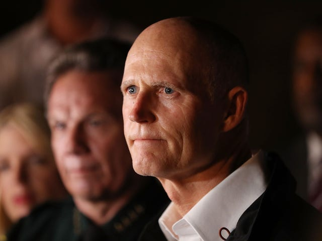 Yes, Florida Gov. Rick Scott Is Breaking Ranks With the NRA and Trump. No, We Shouldn't Celebrate Just Yet