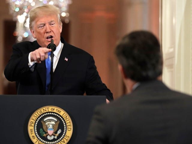 White House Suspends Jim Acosta's Press Pass Following Contentious Exchange With Trump at News Conference