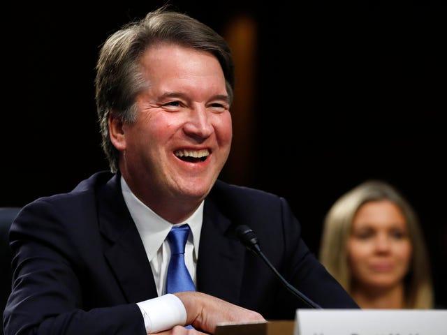 Brett Kavanaugh vai matar os direitos do aborto com um sorriso