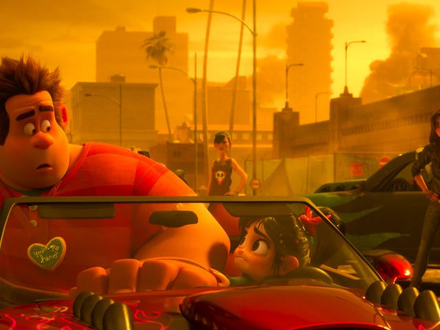 Ralph Breaks the Internet's Directors on the Importance of Slaughter Race, the Film's Grand Theft Auto Clone