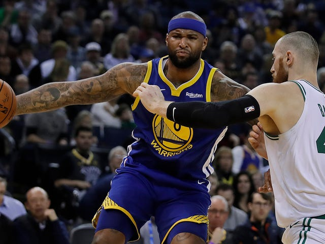 Hmm, Maybe The Warriors With DeMarcus Cousins Aren't Invincible After All