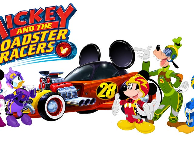 Mickey and the Roadster Racers: or How I got my daughter into race cars.