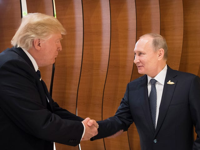 Trump Congratulates Putin on His Re-Election Because He Loves the Russian President More Than He Loves America