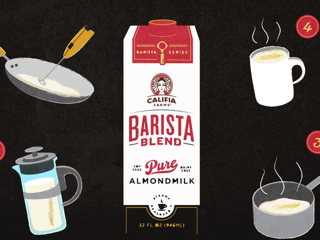You Don't Have To Give Up Latte Art Because You Gave Up Dairy