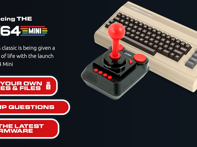 PSA: The C64 Mini Comes Out In Two Months, and Preorders Are In Stock