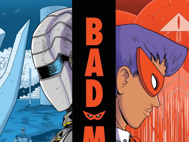 Bad Mask de Jon Chad tem uma abordagem amiga da criança para o conjunto de caixa de quadrinhos