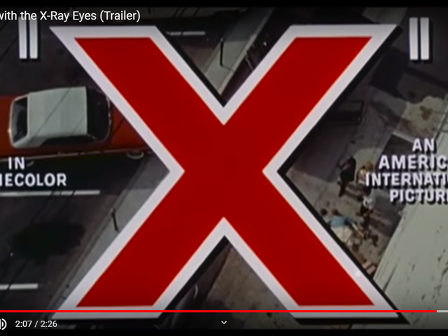 X: The Man With X-ray Eyes (1963)